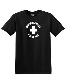 Waterboarding Lifeguard Cotton T-Shirt