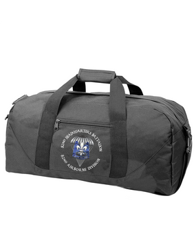 82nd Hqtrs & Hqtrs Battalion Embroidered Duffel Bag