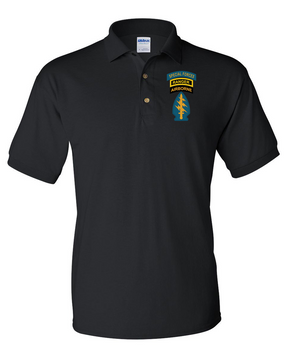 Triple Canopy Embroidered Cotton Polo Shirt