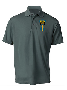 Triple Canopy Embroidered Moisture Wick Polo