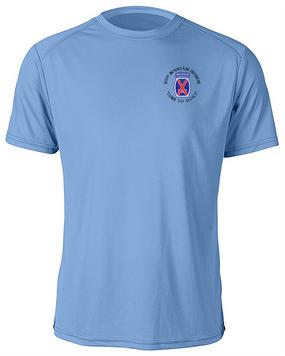 10th Mountain Division Moisture Wick Shirt