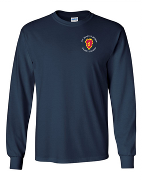 25th Infantry Division Long-Sleeve Cotton Shirt