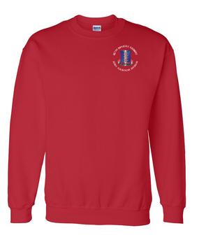 187th Regimental Combat Team Embroidered Sweatshirt