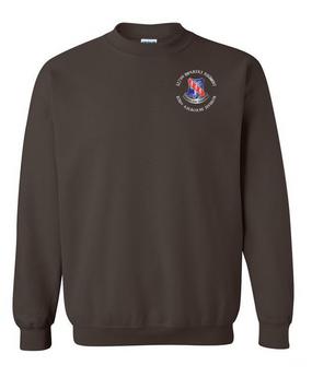 327th Infantry Regiment Embroidered Sweatshirt