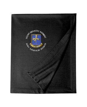 502nd Parachute Infantry Regiment Embroidered Dryblend Stadium Blanket