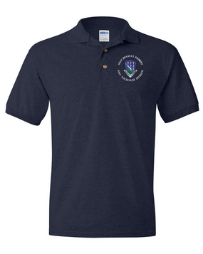 506th Parachute Infantry Regiment Embroidered Cotton Polo Shirt (1)