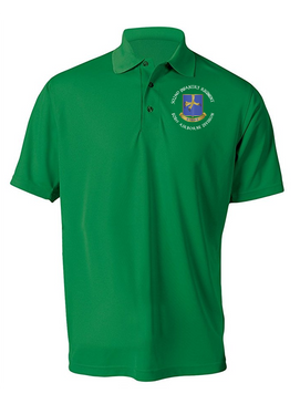 502nd Parachute  Infantry Regiment Embroidered Moisture Wick Polo