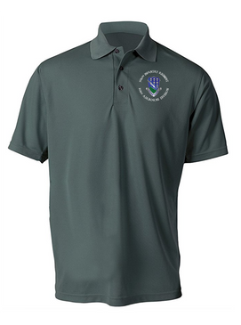 506th Parachute  Infantry Regiment Embroidered Moisture Wick Polo