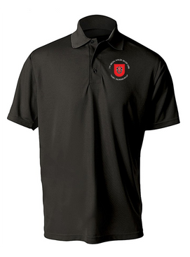 7th Special Forces Group Embroidered Moisture Wick Polo (C)