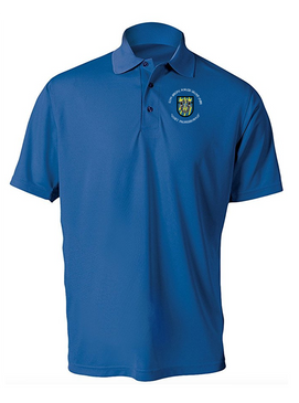 12th Special Forces Group  Embroidered Moisture Wick Polo (C)