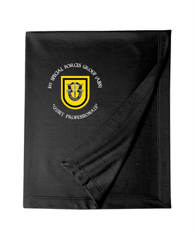 1st Special Forces Group Embroidered Dryblend Stadium Blanket
