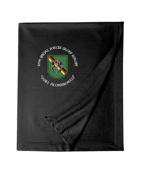 10th Special Forces Group (Europe)  Embroidered Dryblend Stadium Blanket