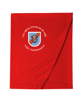 20th Special Forces Group Embroidered Dryblend Stadium Blanket