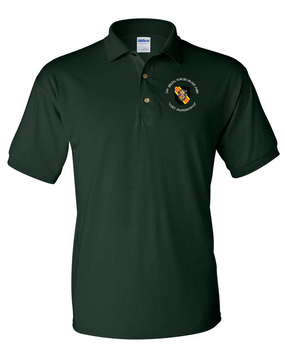 5th Special Forces Group V2  Embroidered Cotton Polo Shirt (C)