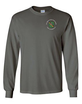 10th Special Forces Group (Europe) Long-Sleeve Cotton Shirt (C)