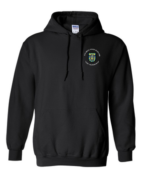 12th Special Forces Group  Embroidered Hooded Sweatshirt (C)