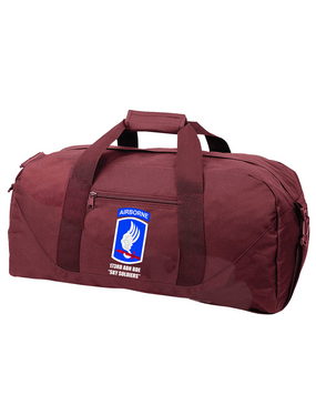 "173rd ""Sky Soldiers"" Embroidered Duffel Bag"