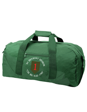 1st Infantry Division Embroidered Duffel Bag (C)