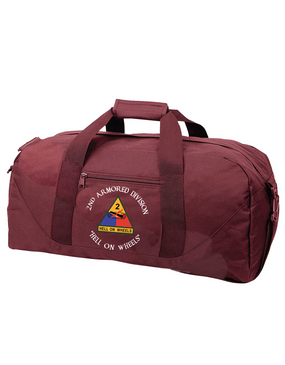 2nd Armored Division Embroidered Duffel Bag (C)
