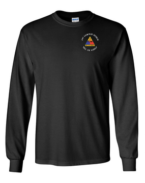 2nd Armored Division Long-Sleeve Cotton Shirt (C)