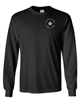 2nd Infantry Division Long-Sleeve Cotton Shirt (C)