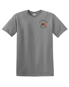 2nd Armored Division Cotton T-Shirt (C)