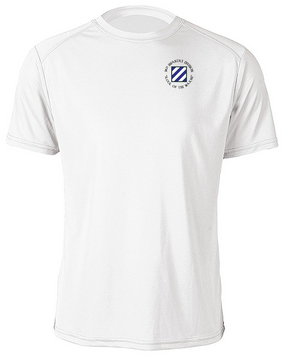 3rd Infantry Division Moisture Wick Shirt  (C)