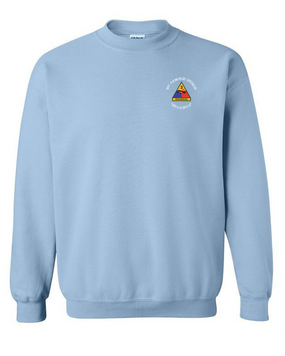 3rd Armored Division Embroidered Sweatshirt (C)