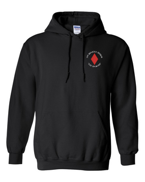 5th Infantry Division Embroidered Hooded Sweatshirt (C)