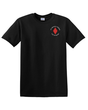 5th Infantry Division Cotton T-Shirt (C)-Pocket