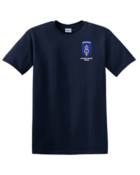 8th Infantry Division Airborne Cotton T-Shirt -(P)