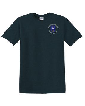 8th Infantry Division Cotton T-Shirt -Pocket (C)