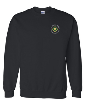 4th Infantry Division Embroidered Sweatshirt (C)