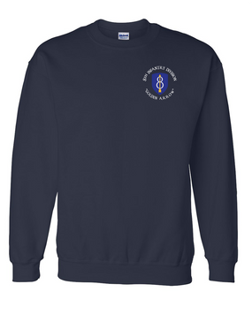 8th Infantry Division Embroidered Sweatshirt (C)