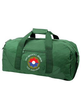 9th Infantry Division Embroidered Duffel Bag  (C)