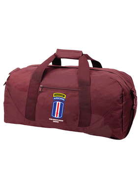 193rd Infantry Brigade Airborne w/ Ranger Tab Embroidered Duffel Bag