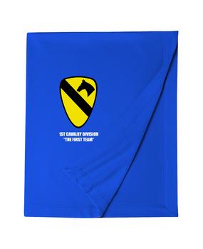 1st Cavalry Embroidered Dryblend Stadium Blanket