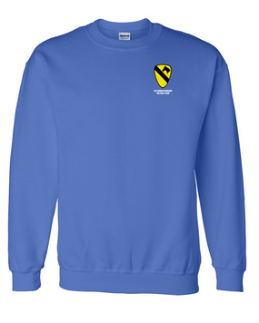 1st Cavalry Division Embroidered Sweatshirt