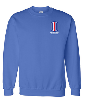 193rd Infantry Brigade Embroidered Sweatshirt