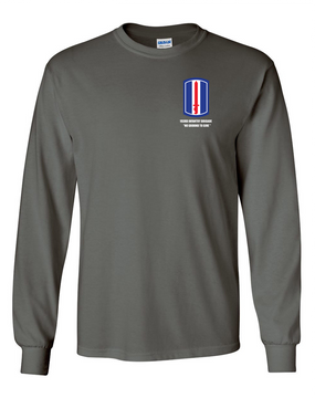 193rd Infantry Brigade  Long-Sleeve Cotton Shirt