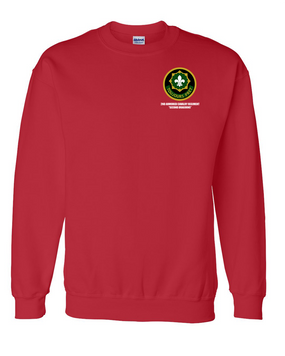 2nd Armored Cavalry Regiment Embroidered Sweatshirt