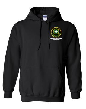 2nd Armored Cavalry Regiment Embroidered Hooded Sweatshirt