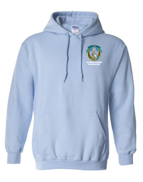 7th Cavalry Regiment Embroidered Hooded Sweatshirt