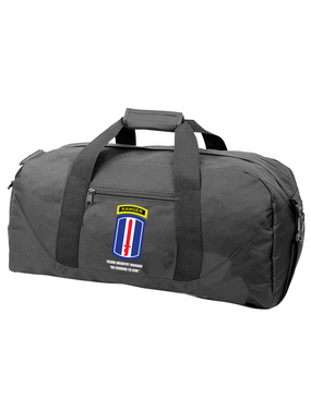 193rd Infantry Brigade w/ Ranger Tab Embroidered Duffel Bag
