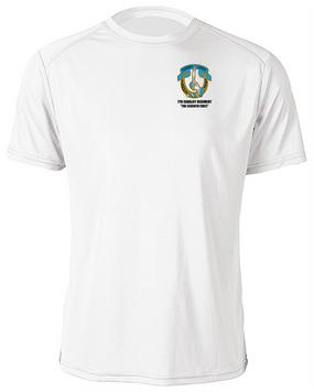 7th Cavalry Regiment Moisture Wick Shirt  -Pocket