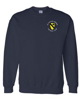 1st Cavalry Division Embroidered Sweatshirt (C)