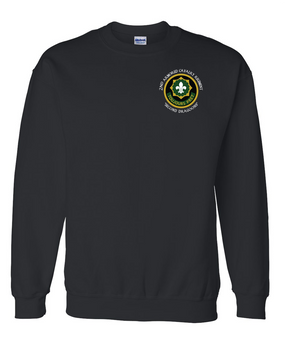 2nd Armored Cavalry Regiment Embroidered Sweatshirt (C)