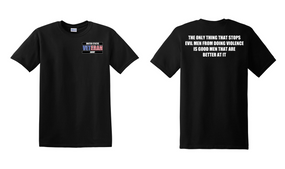 US Army Veteran Cotton T-Shirt -Evil-(P)