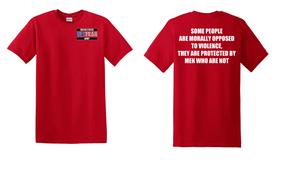US Army Veteran Cotton T-Shirt -Morally-(P)