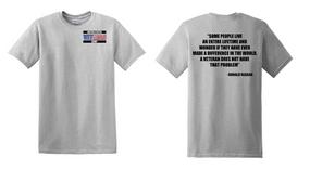 US Army Veteran Cotton T-Shirt -Reagin-(P)